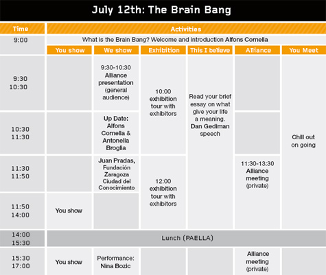 Program iFest'08 12th July