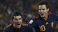 Villa volta a salvar a Espanha