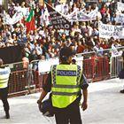IMPOSTO. Milhares compareceram na manifestação promovida por associações de empresários da restauração contra o aumento do IVA para o sector