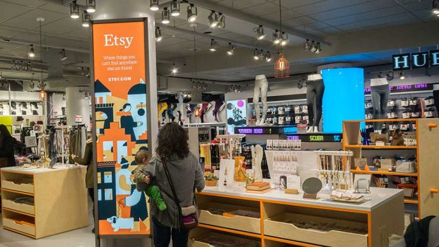 Online craft and artisan marketplace Etsy was among the Internet retailers resisting an otherwise tough week for retail stocks. (Richard B. Levine/Newscom)
