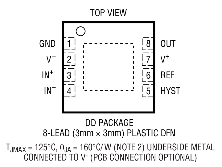LTC1540 Package Drawing