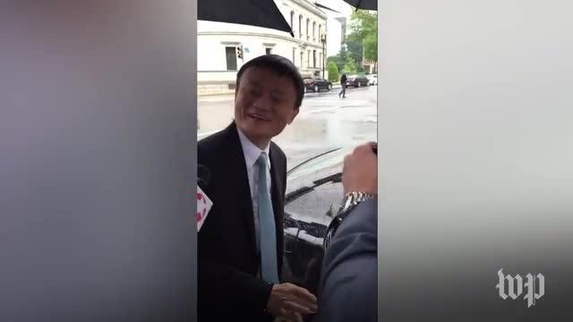 Alibaba founder Jack Ma visits White House