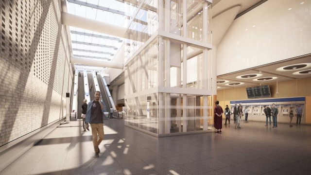 See Inside London's New Crossrail Stations Before...