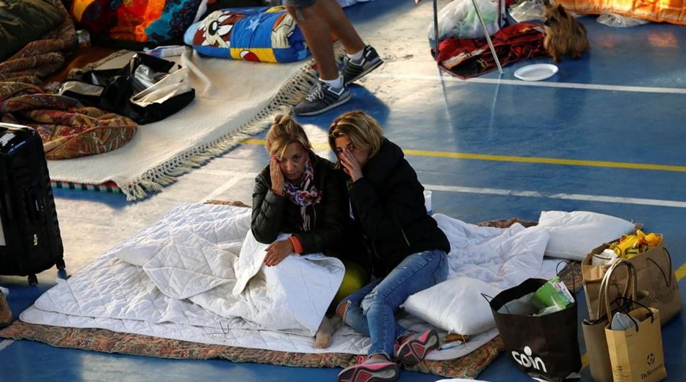 Itália reage à destruição