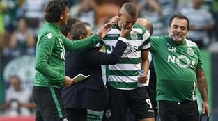 Slimani: o último jogo pelo Sporting e as lágrimas da despedida