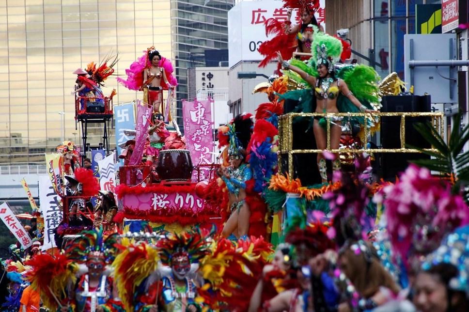 Dançar o samba no Japão