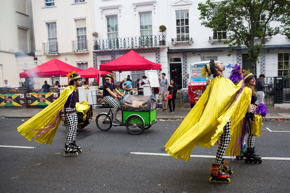 No Carnaval de Notting Hill ninguém leva a mal