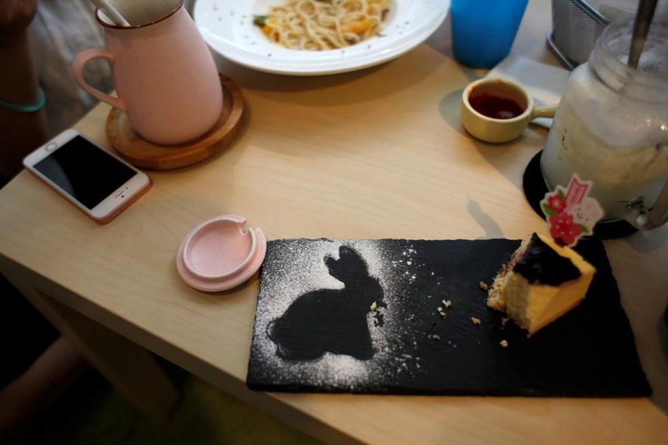 Gosta de coelhos? Este é o café para si