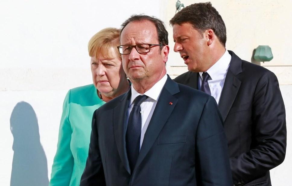 Líderes europeus reúnem-se para salvar Europa