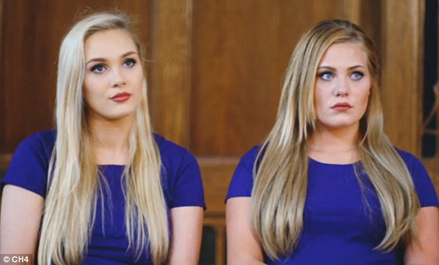 Shannon, left, and Sarah hit headlines last year after finding each other on a website called Twin Strangers, designed to bringdoppelgängers from around the world together