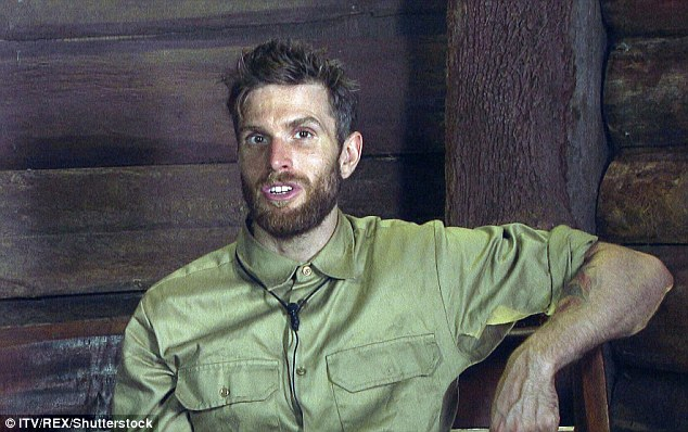 Boys will be boys: Following her triumph Joel reminisced about the guy's antics in the camp, and how much they've bonded