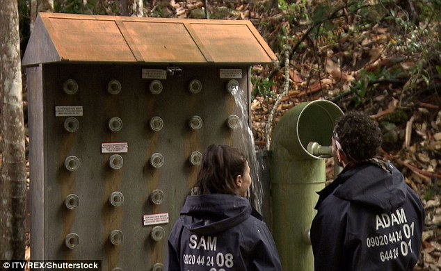 Tricky: Sam and Adam were tasked with completing the Dingo Dollar challenge, which saw them connecting pipes to a board to stop a leak be answering riddles