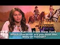Miley Cyrus talks to MySpace about Hannah Montana: The Movie! video