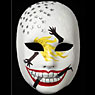Mask painted by Cleo Rocos