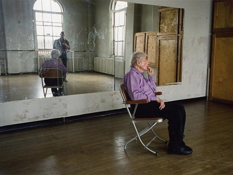 Image of: Merce Cunningham performs STILLNESS (in three movements) to John Cage's composition 4'33