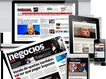 Todos os conteúdos do Jornal, antecipados, enriquecidos e actualizados ao longo do dia