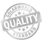 SolarWorld solar panels are the best quality in the industry