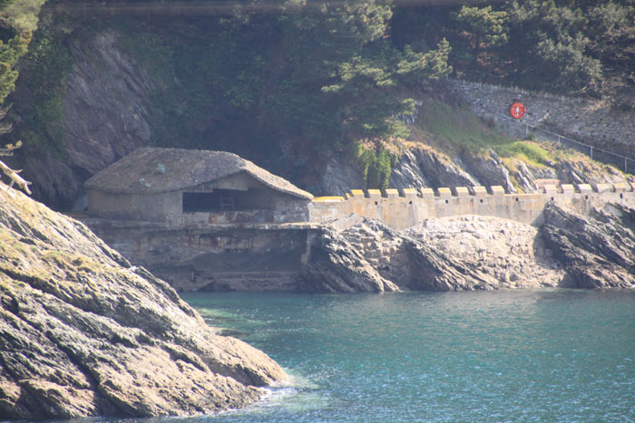 The Kingswear Torpedo Battery defending Dartmouth Harbour against German invasion in the Second World War