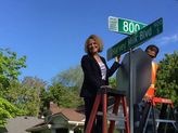 Lesbian Mayor Installs 'Harvey Milk Boulevard' Sign in SLC - News from the Best Gay Dating Site