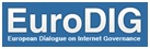 Logotipo do EuroDIG – European Dialogue on Internet Governance