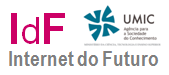 Logo of the Portuguese Knowledge Society Agency (UMIC) Future Intert activities (IdF – Future Internet, Knowledge Society Agency (UMIC))